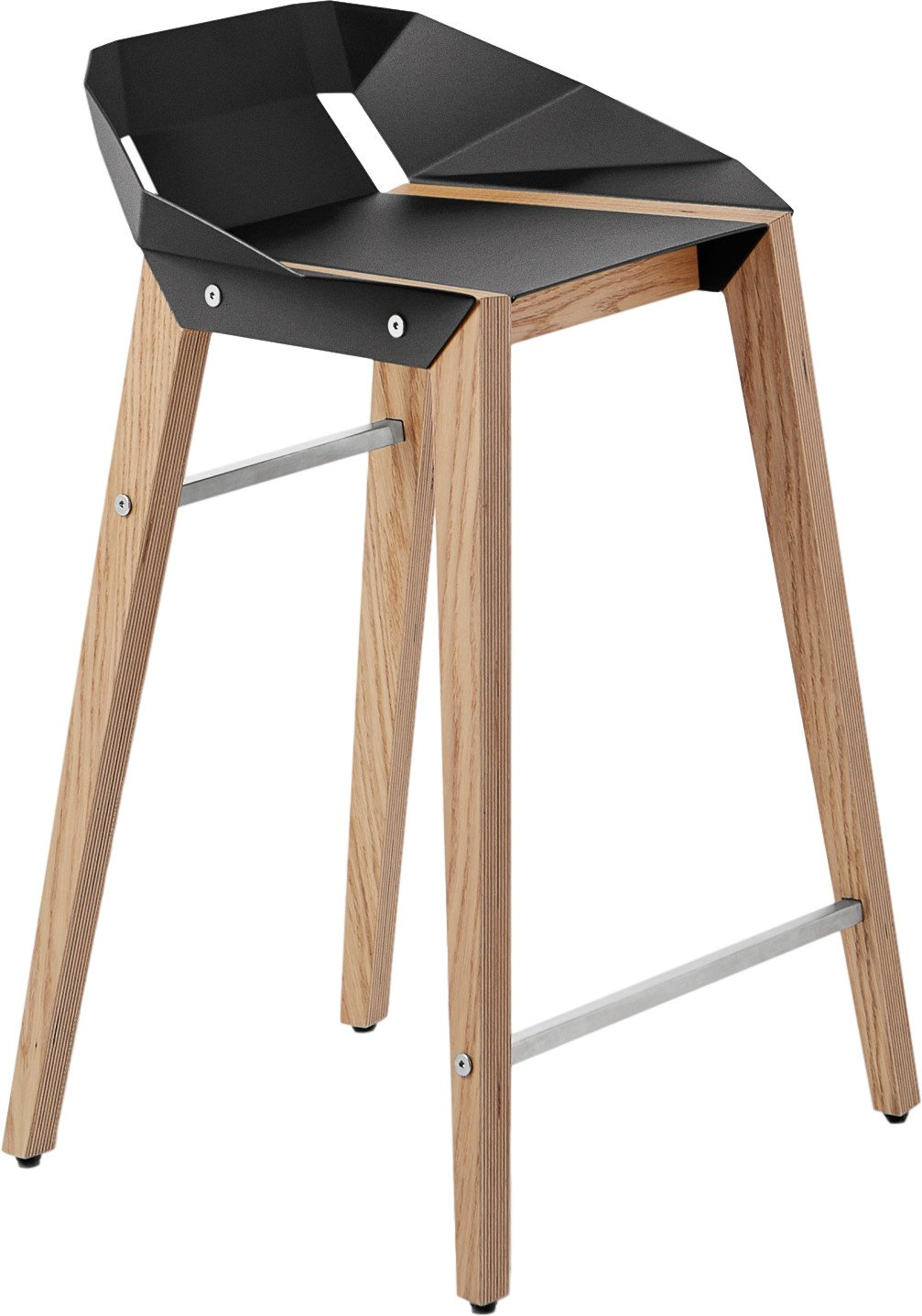 Diago Stool Low Black, Tabanda, Poland