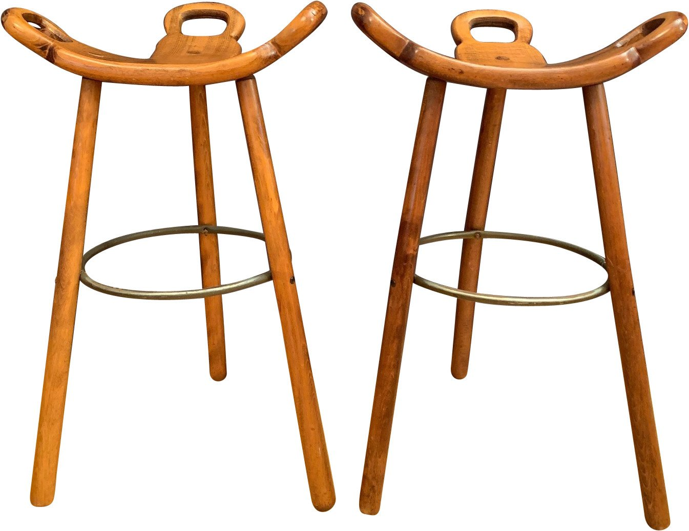 Pair of Bar Stools, Confonorm, Spain, 1970s