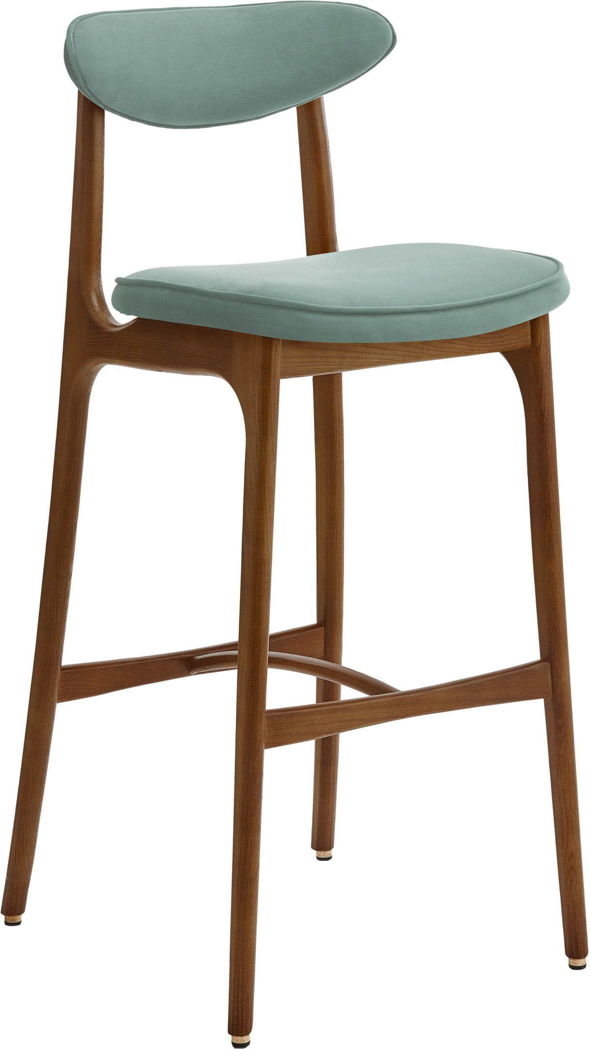 200-190 Bar Stool 75 Velvet Mint, 366 Concept