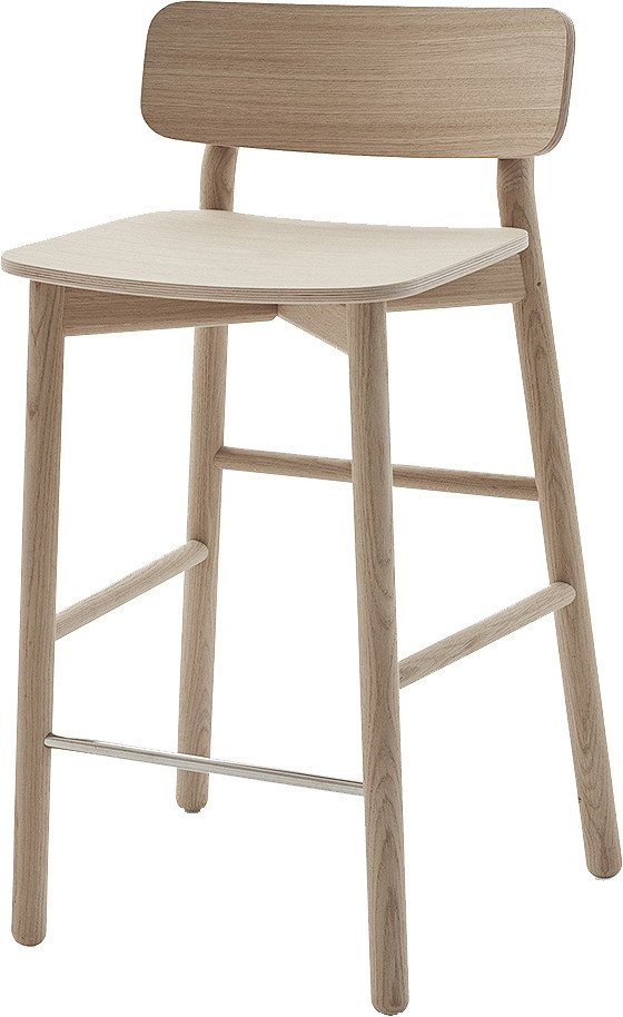 Bar Stool Hven Oak by A. Björsing for Skagerak