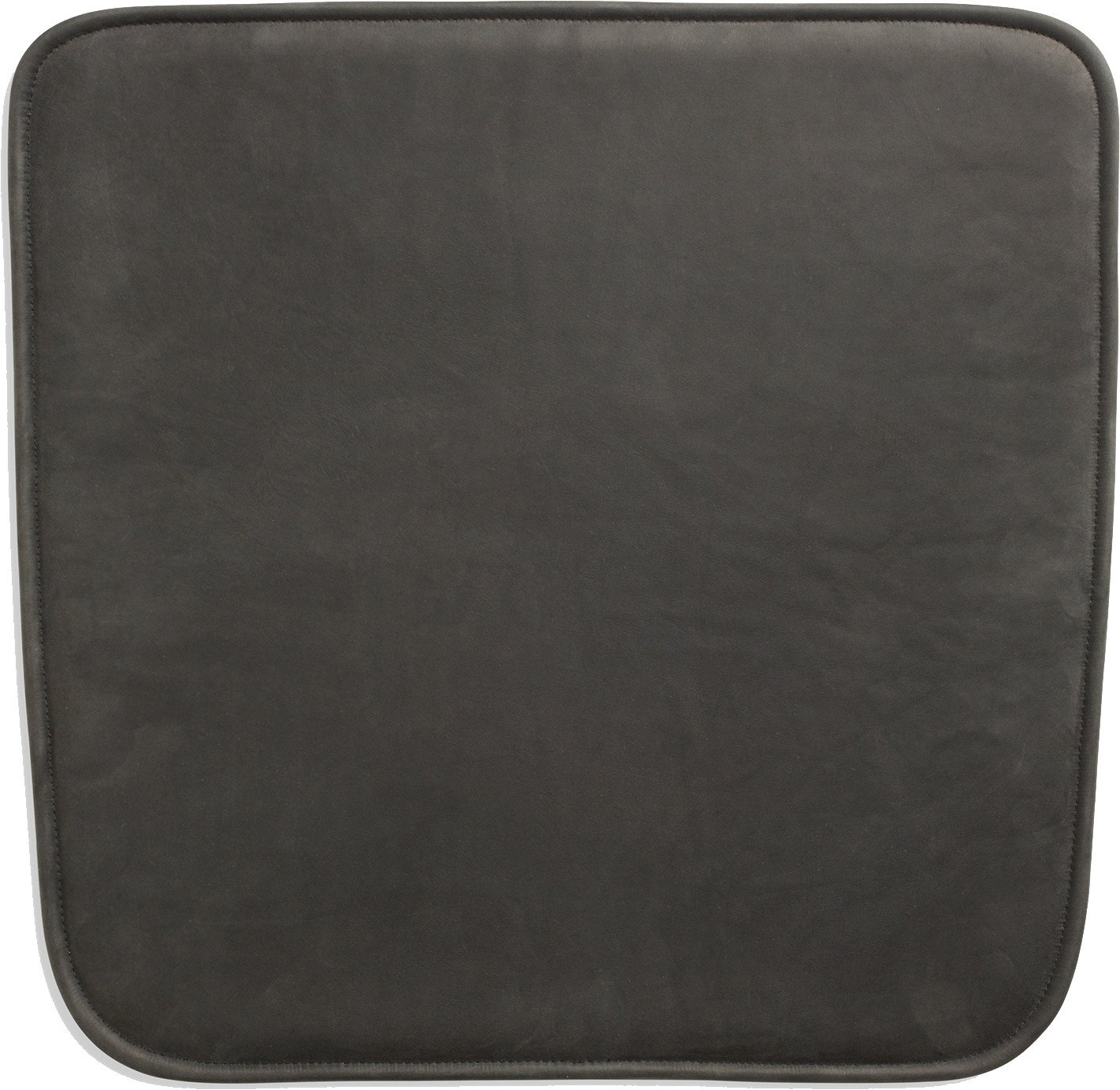 Hven Bar Stool Cushion Protected Leather Black by A. Björsing, Skagerak