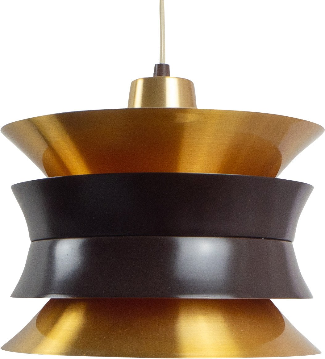 Pendant Lamp by C. Thore for Granhaga Metallindustri, Sweden, 1960s
