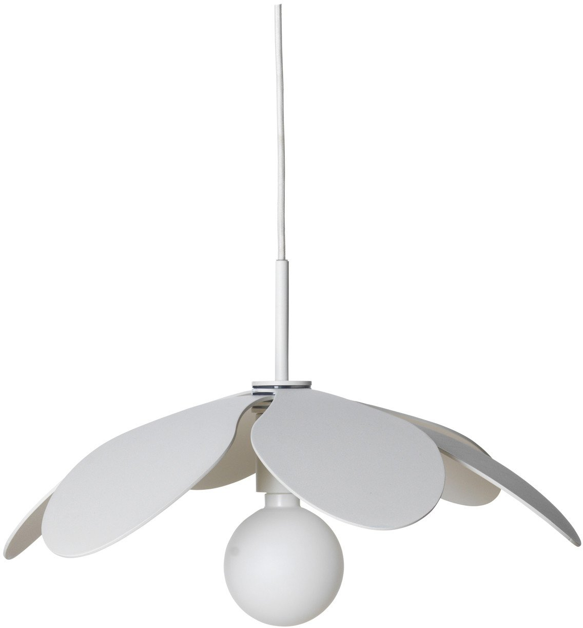 Bloom Pendant Lamp White 30 by M. Mulder for Pholc