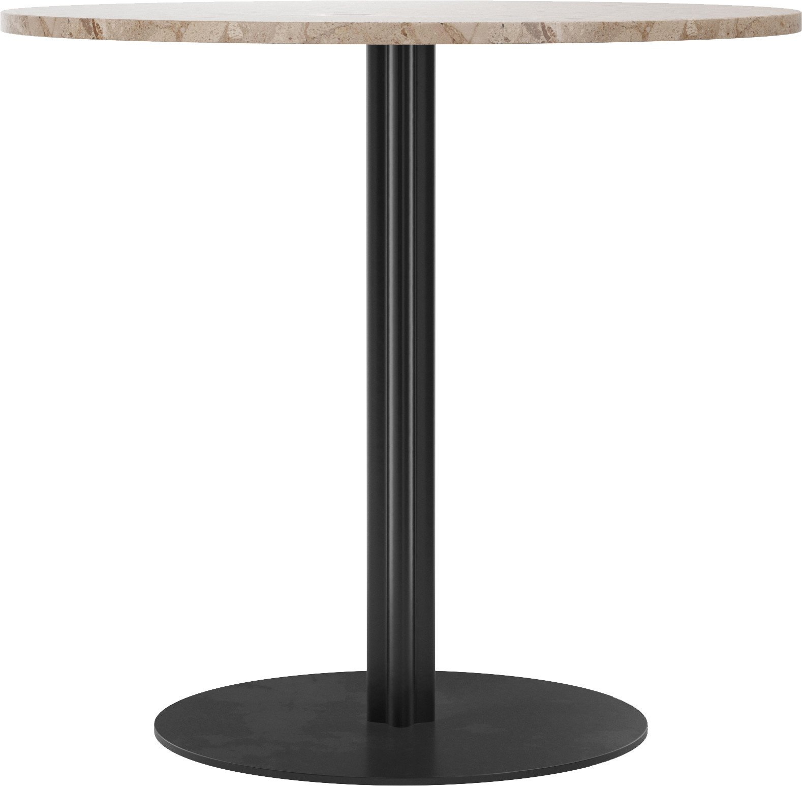 Harbour Column Dining Table Ø80 cm Kunis Brescia Marble by Norm Architects, Menu