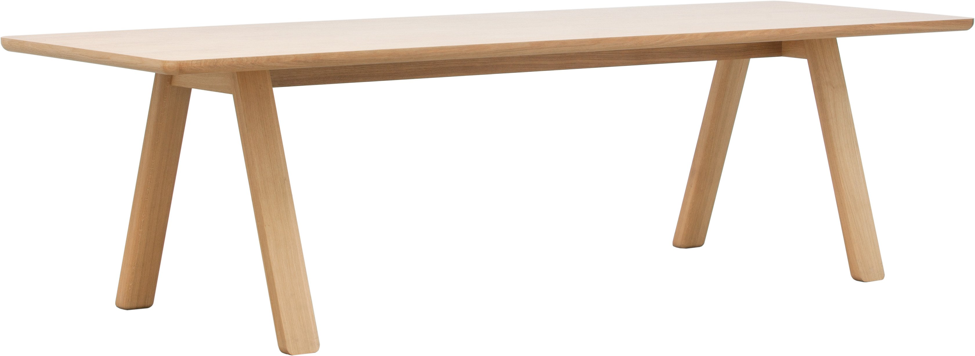 Stelvio Table 220x90 Oak by A. Gufler, TON