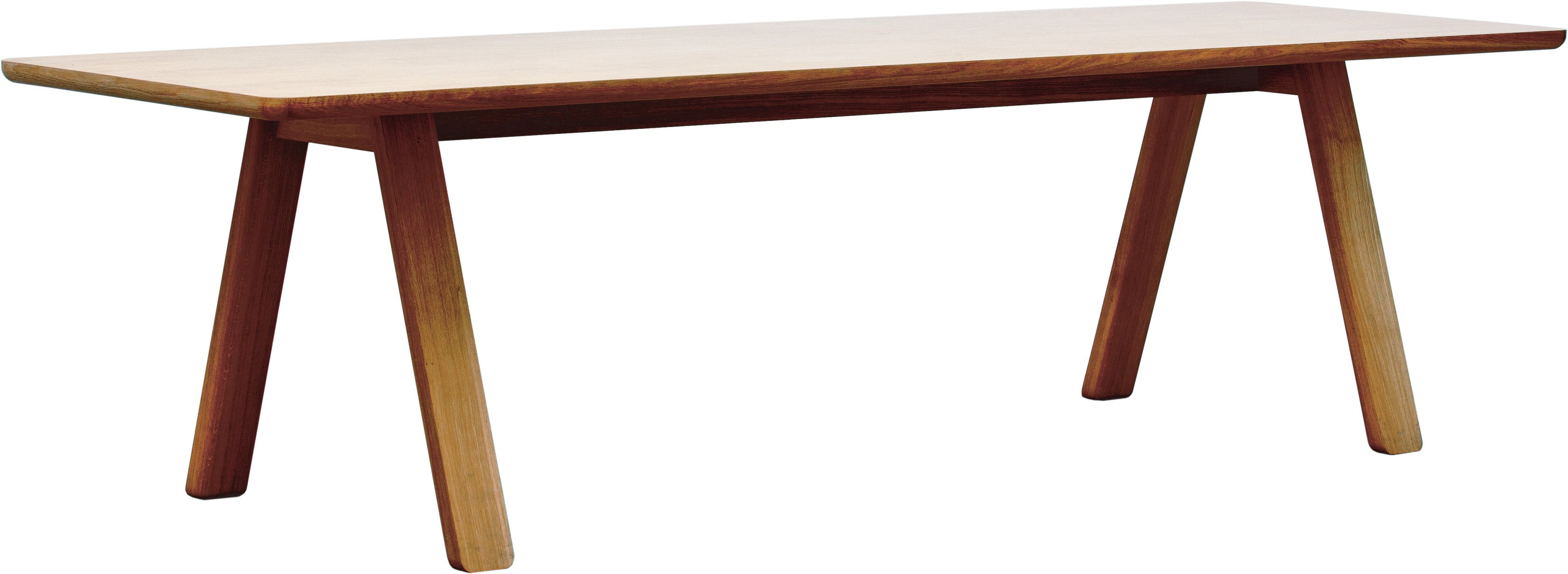 Stelvio Table 280x100 American Walnut by A. Gufler, TON