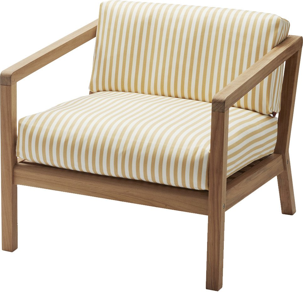 Virkelyst Chair White Yellow by Says Who, Skagerak