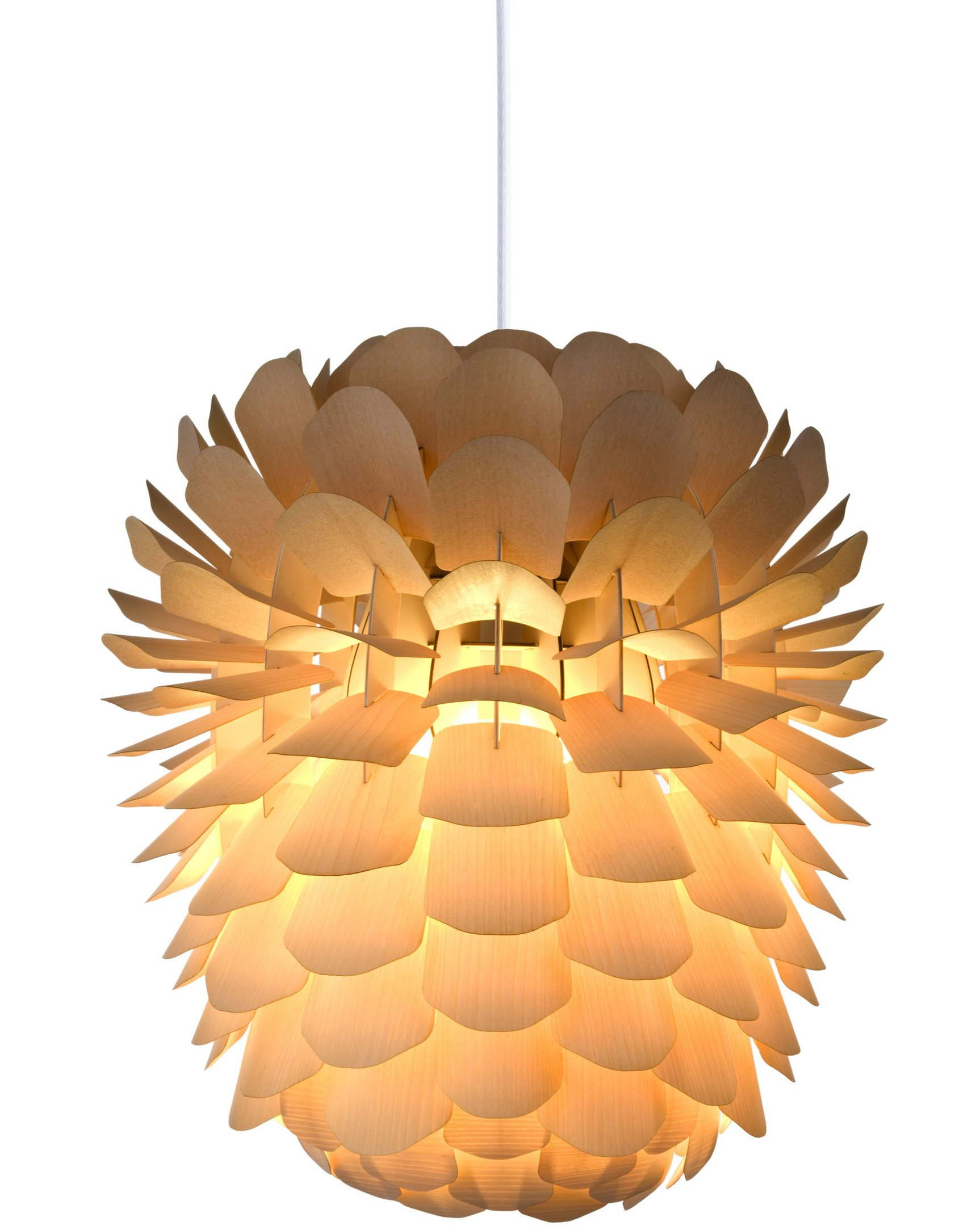 Zappy Small Pendant Lamp Ash by N. Jessen for Schneid