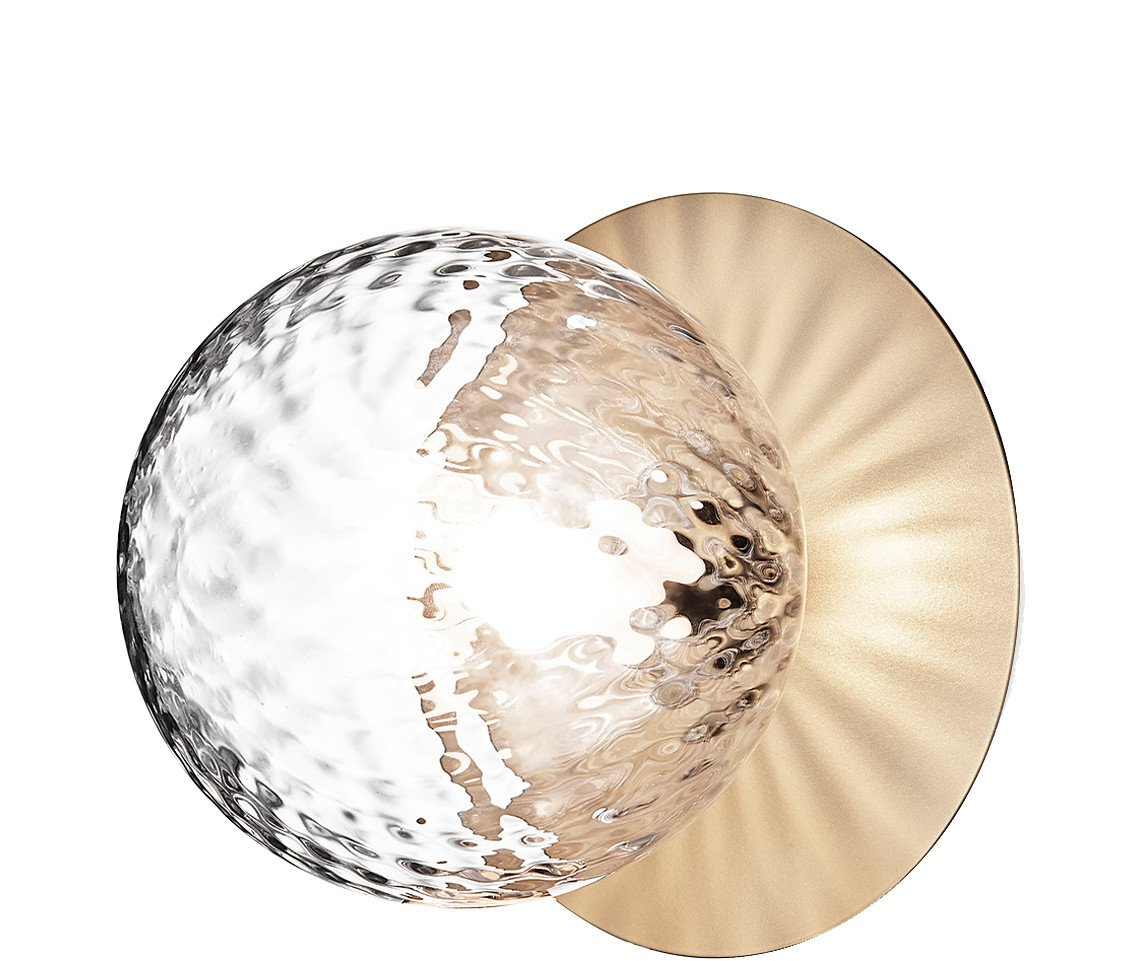 Liila 1 Optic Lamp Small Golden by S. Refer, Nuura