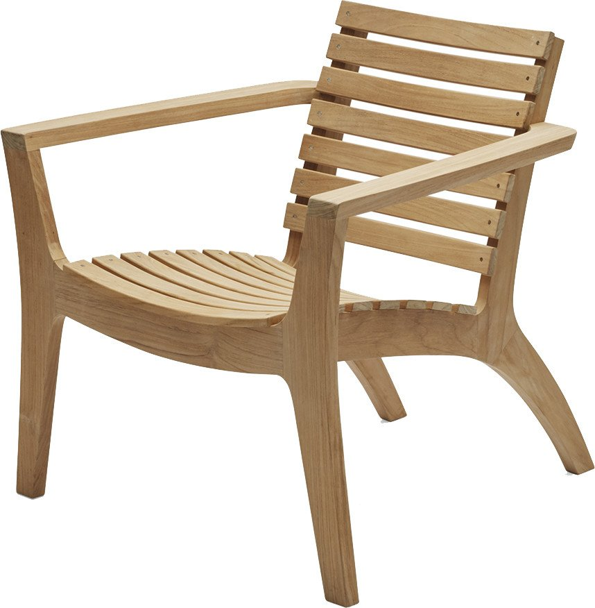 Regatta Lounge Chair Teak by H.T.&Co. & Co. for Skagerak