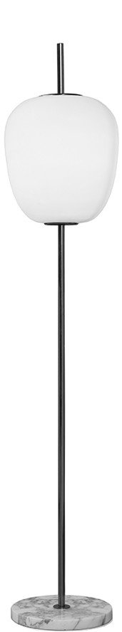 Floor Lamp J14 Nickel 165 cm by J.A. Motte, for Disderot