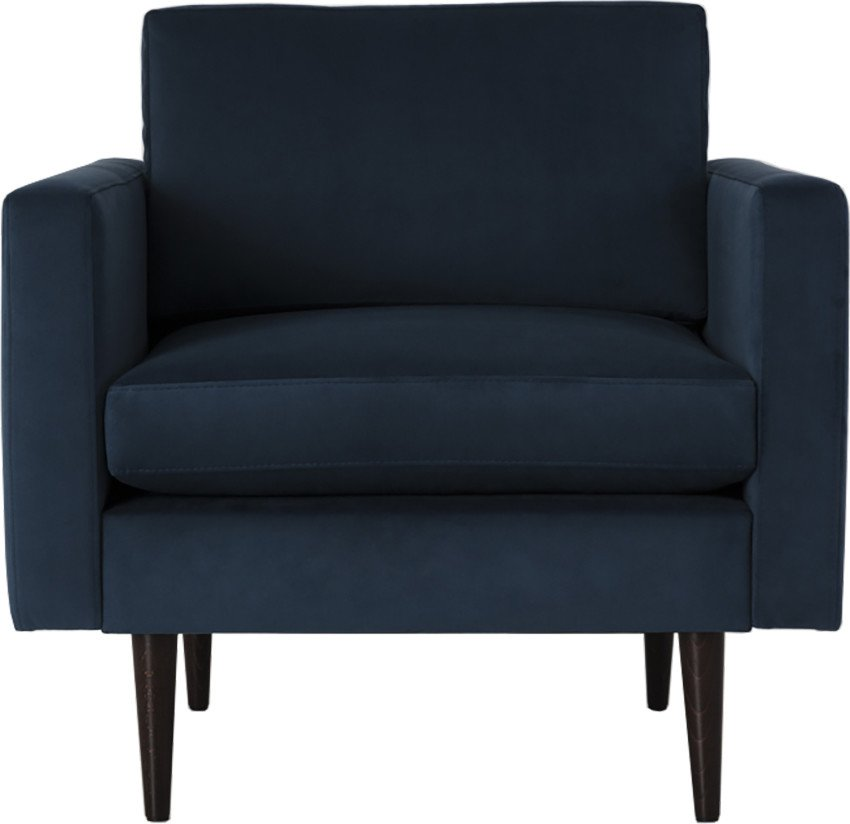Model 01 Armchair Velvet Teal, Swyft
