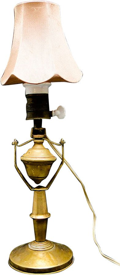 Bedroom Lamp, Poland, early 20th C.