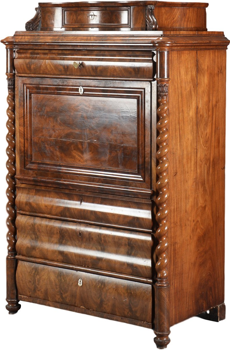 Secretaire, 19th c.