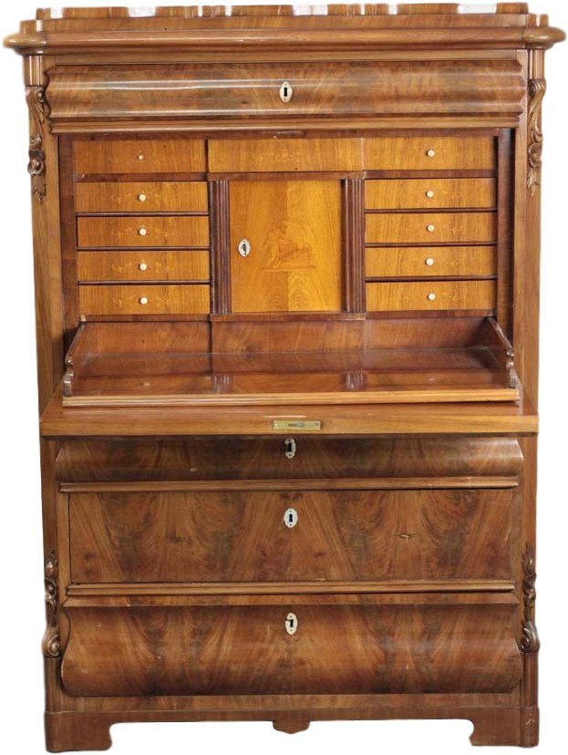 Secretary Desk, 19th C.