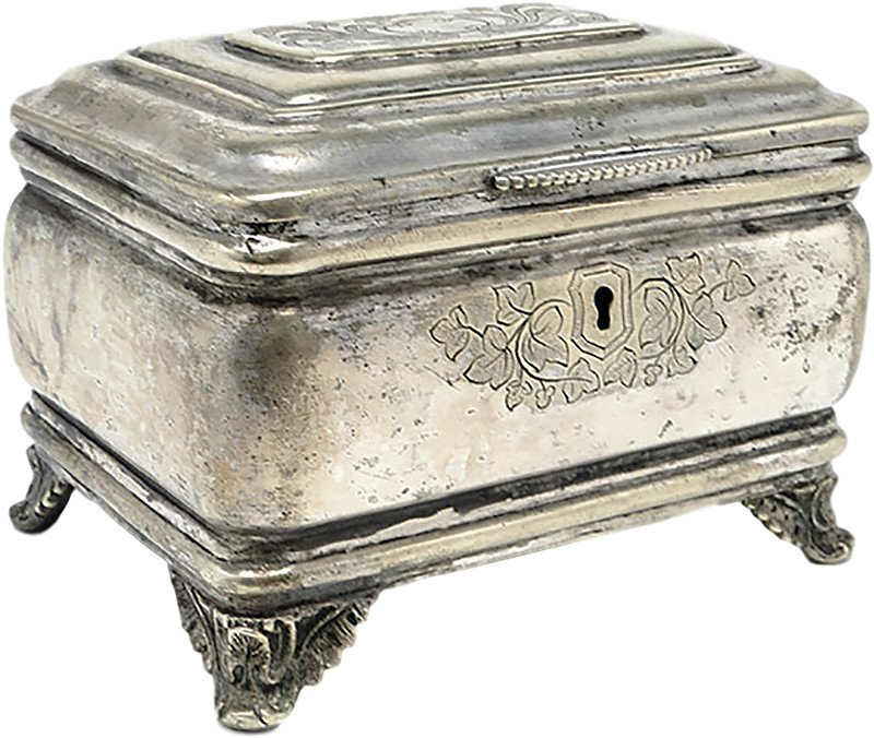 Casket, Norblin & Co, Poland, 19th C. - 481018 - photo