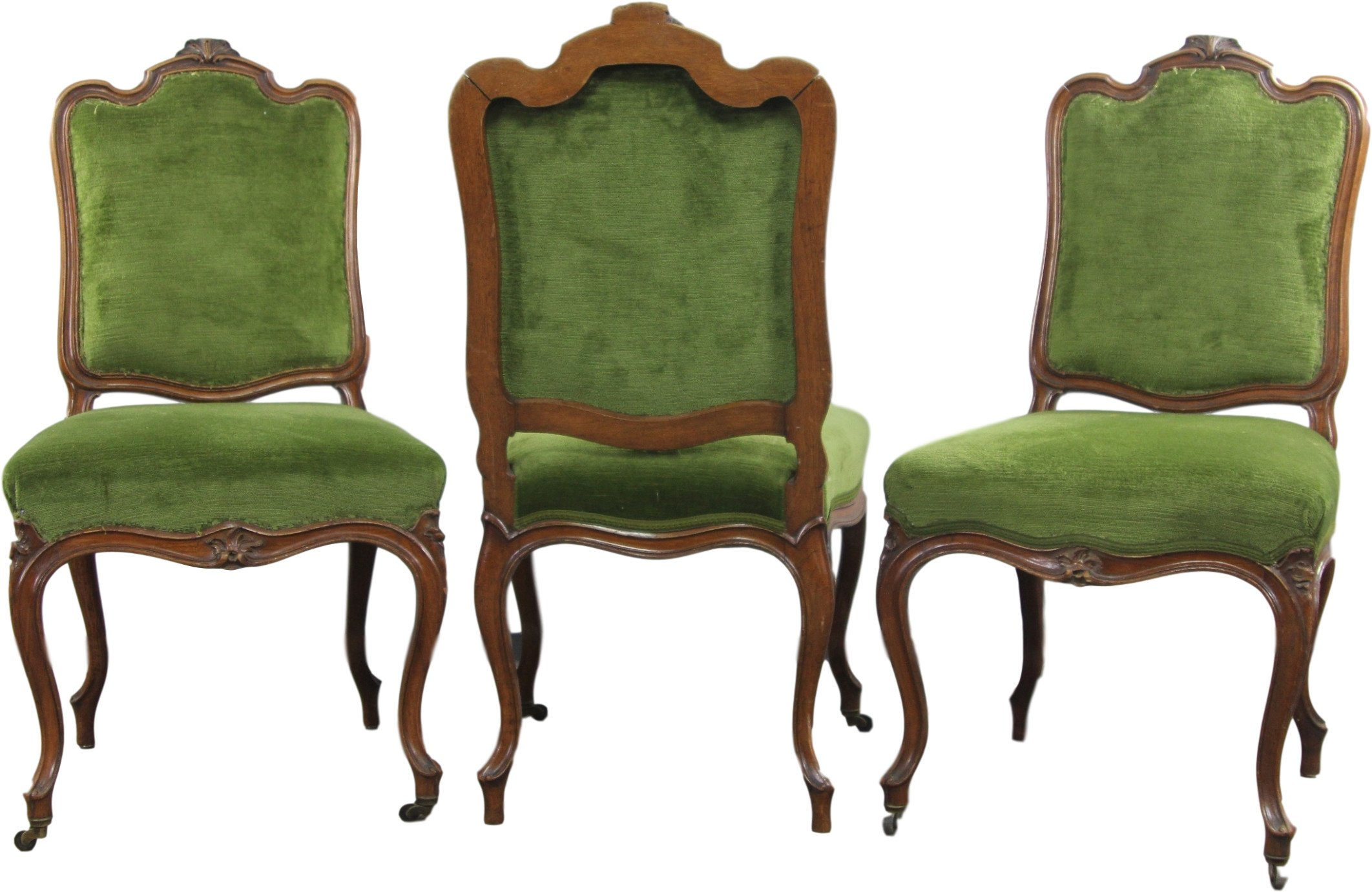 Set of Three Chairs, early 20th C.