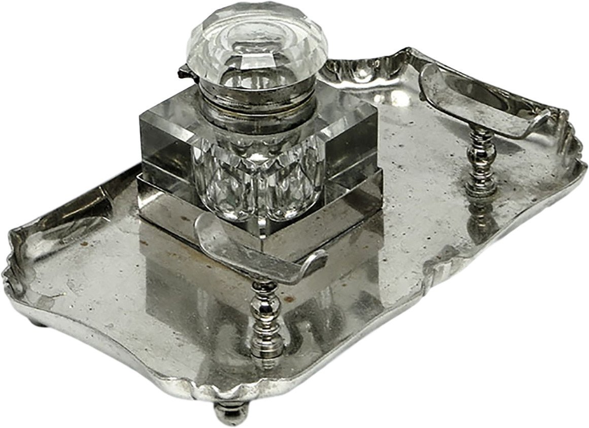 Inkwell, Belgium, early 20th c.
