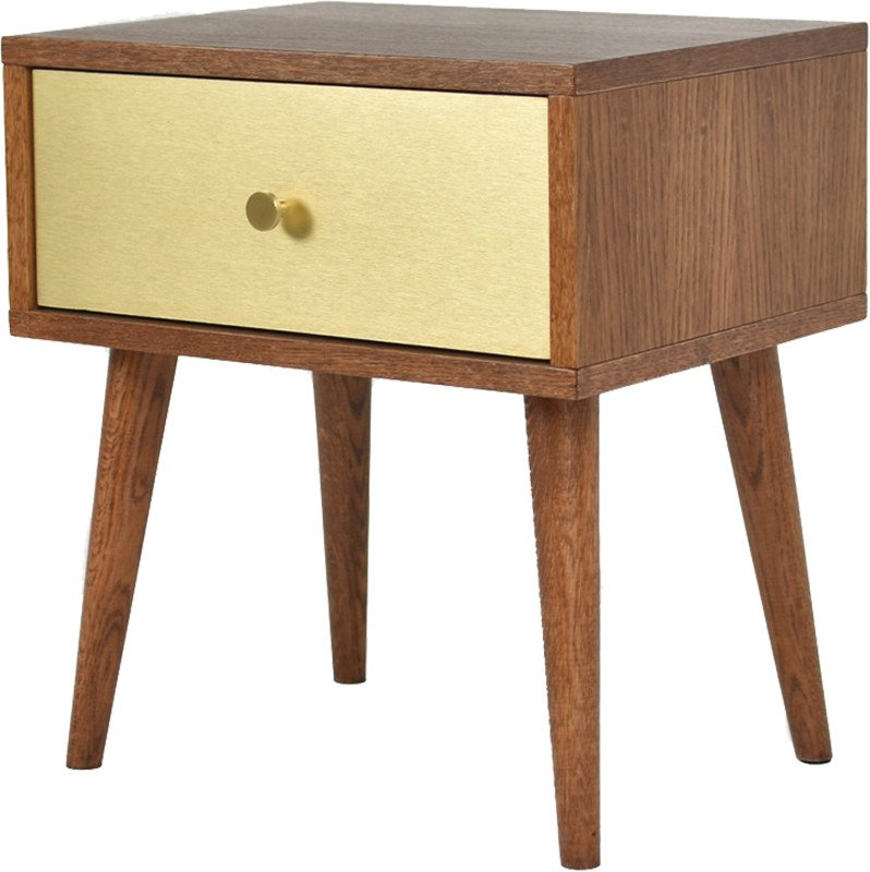 Szafka nocna Bedie Gold, Pastform Furniture