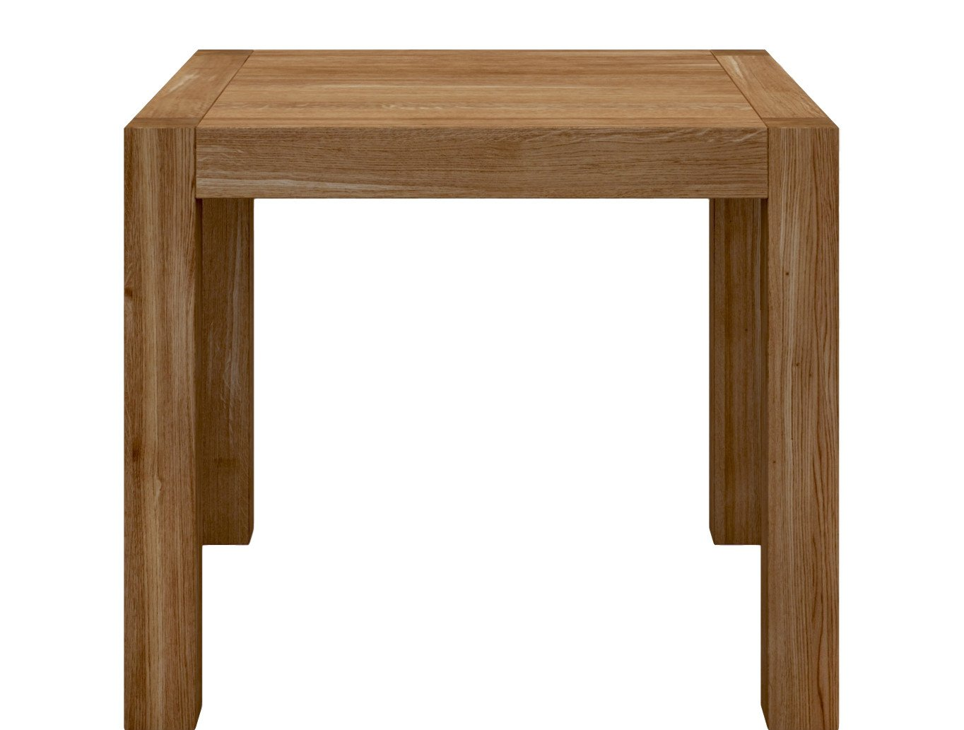 Blox Table Tobacco 90x90, Miloni