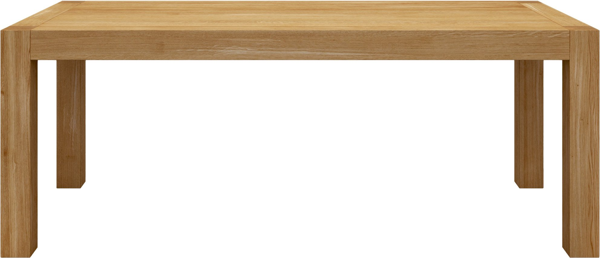 Blox Table Natural 200x90, Miloni