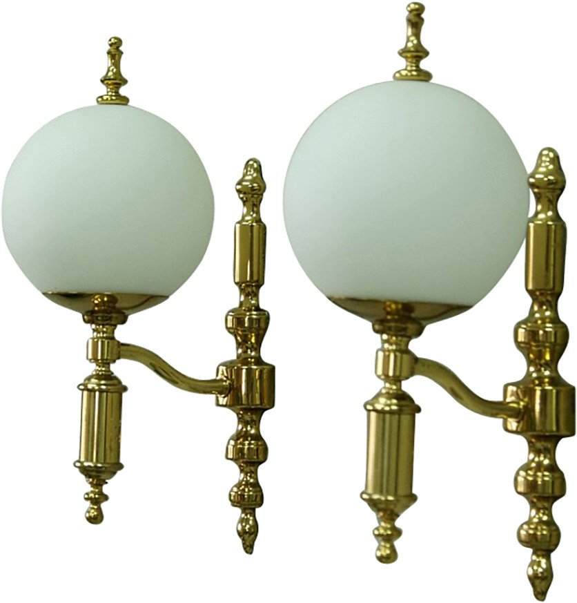 Pair of Wall Lamps, Schröder & Co, Germany, 1970s