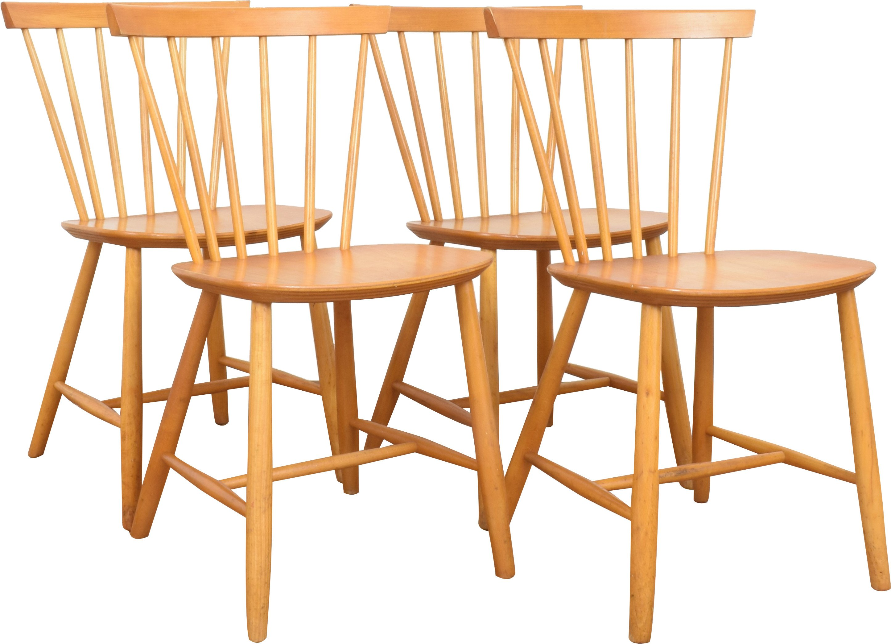 Set of Four Chairs, Farstrup Møbler, Denmark, 1960s