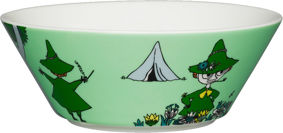 Snufkin Bowl 15cm by T. Slotte for Arabia Finland