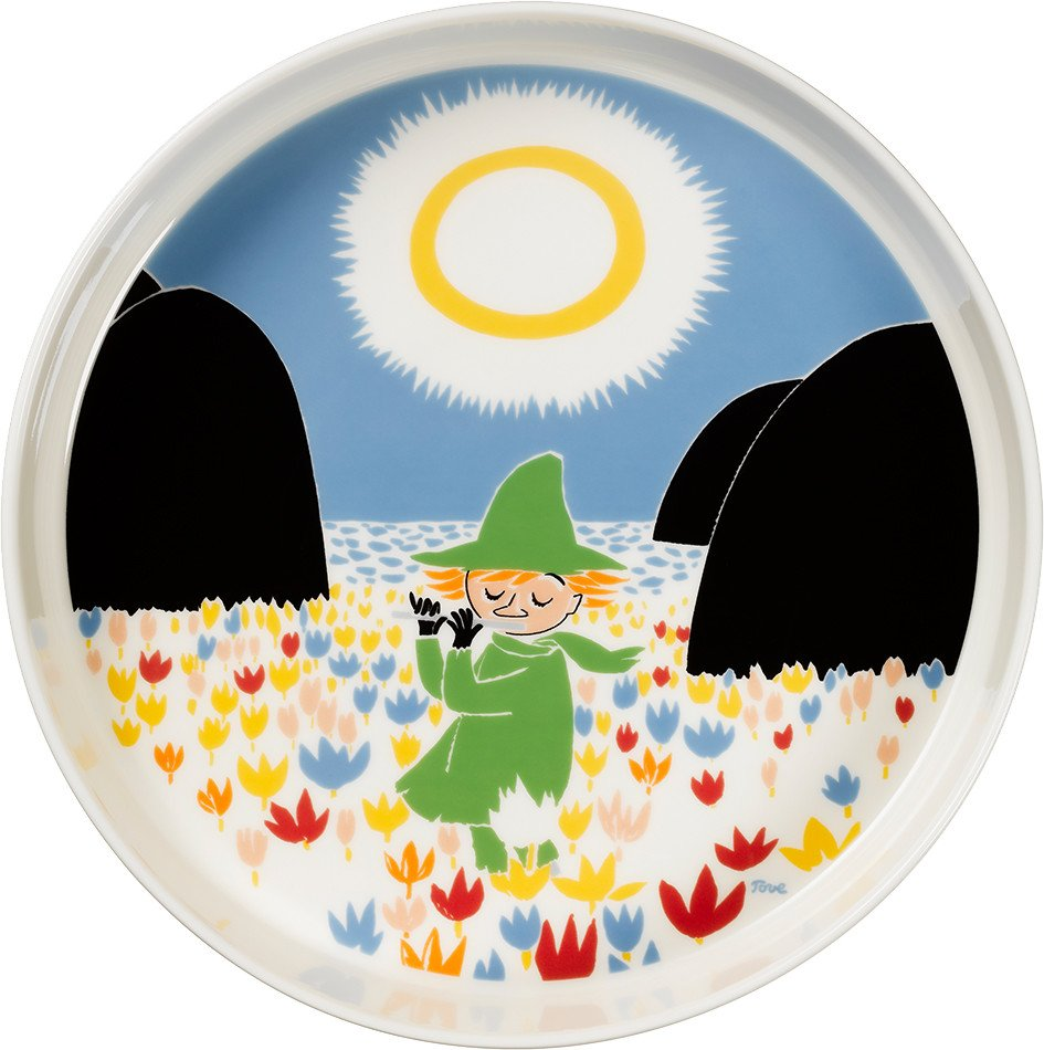 Moomin Friendship Platter Ø26cm by T. Slotte for Arabia Finland