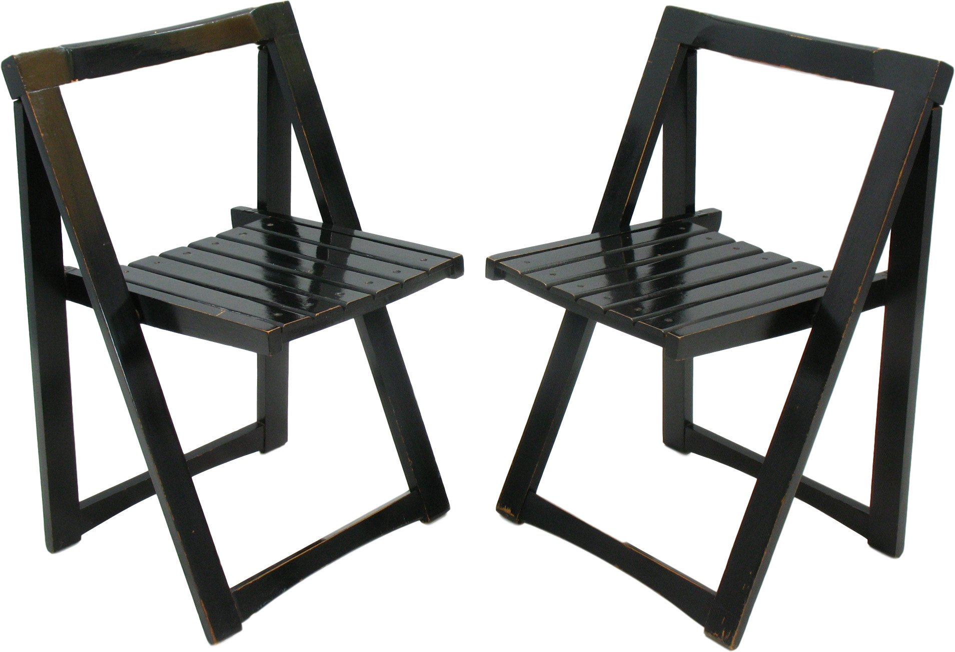 Pair of Chairs by A. Jacober, 1970s