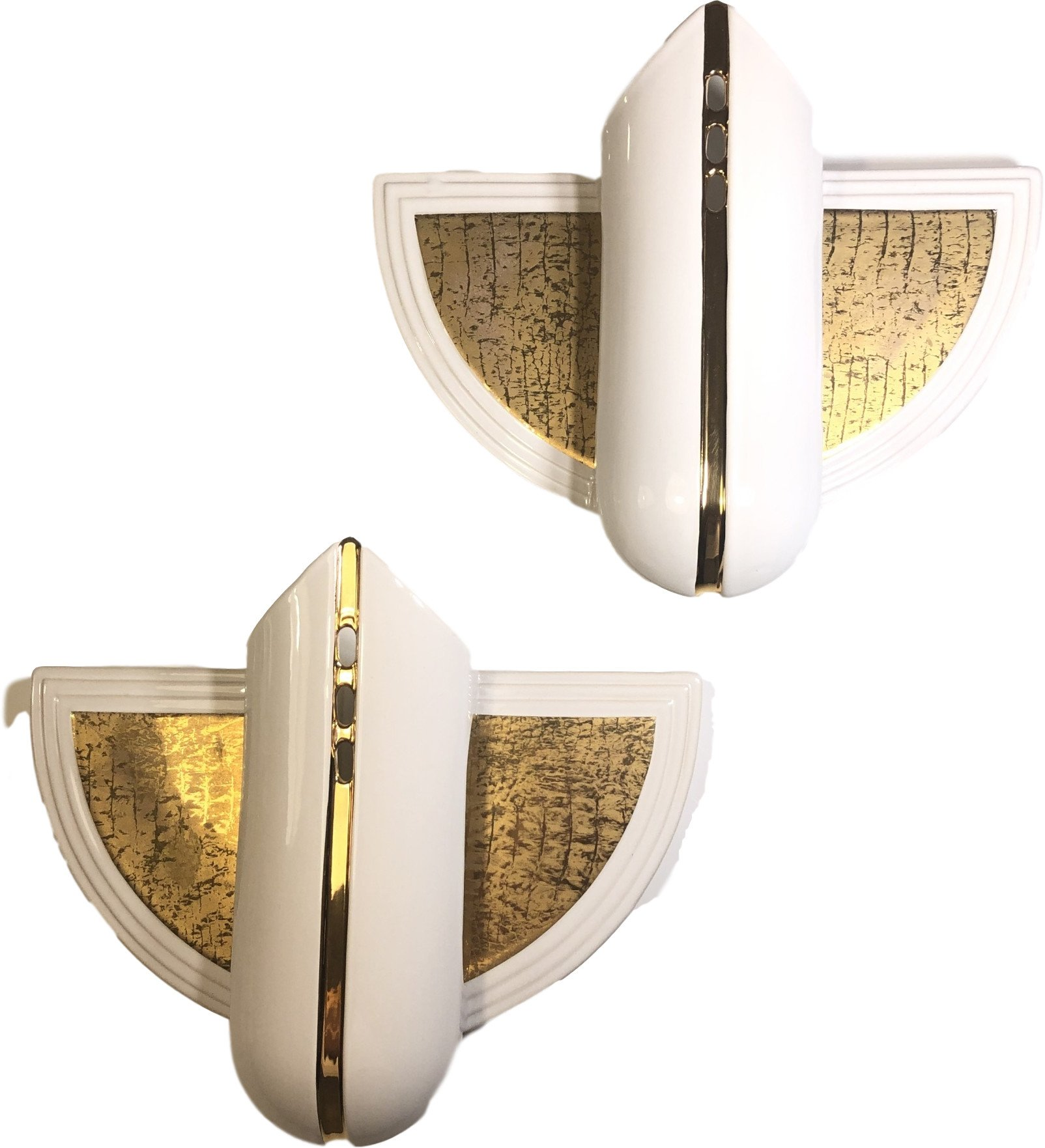 Pair of Wall Lamps, PAN, Germany, 1980s