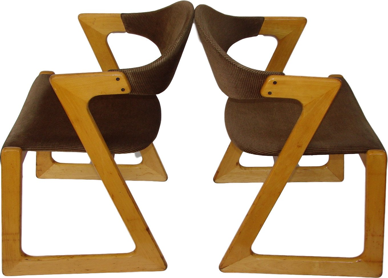 Pair of Two Chairs, Casala, Germany, 1960s