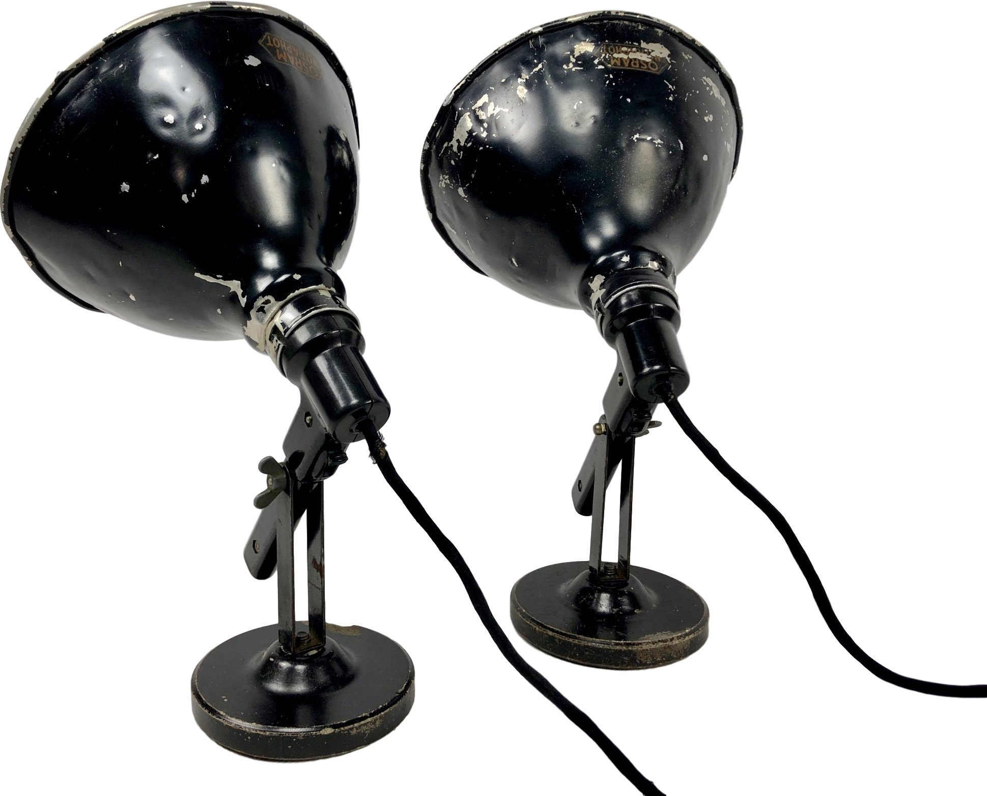 Pair of Desk Lamps, Osram, Germany, 1920s