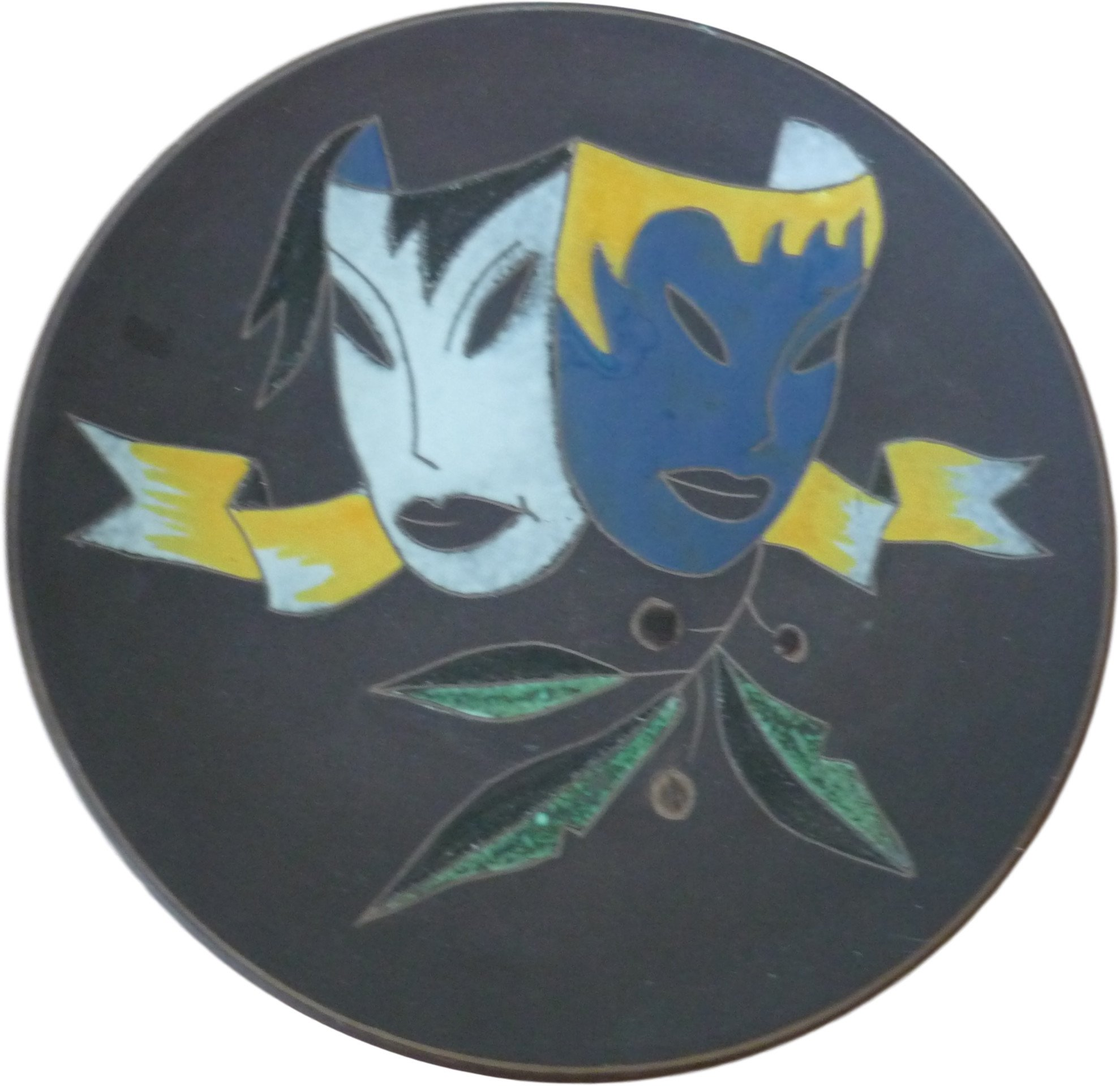 Plate, Germany, 1950s
