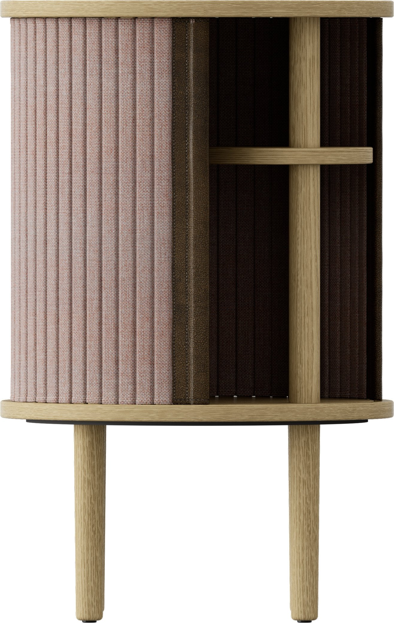 Audacious Side Table Dusty Rose by J. Søndergaard for UMAGE