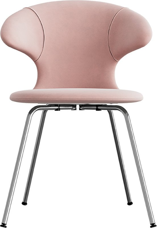 Time Flies Chair Pale Rose Chrome by J. Søndergaard for UMAGE