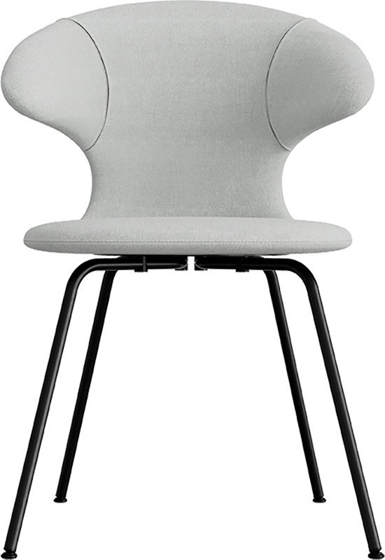 Time Flies Chair Grey & Wellington Black Steel by J. Søndergaard for UMAGE