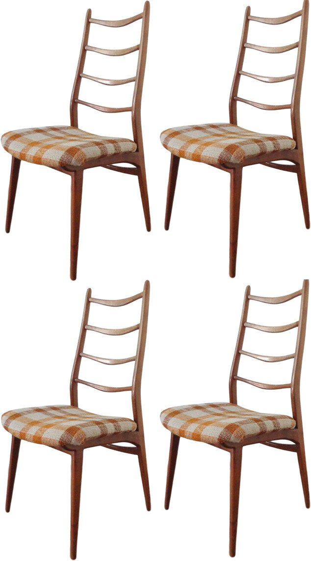 Set of Four Chairs, Habeo, Germany, 1960s