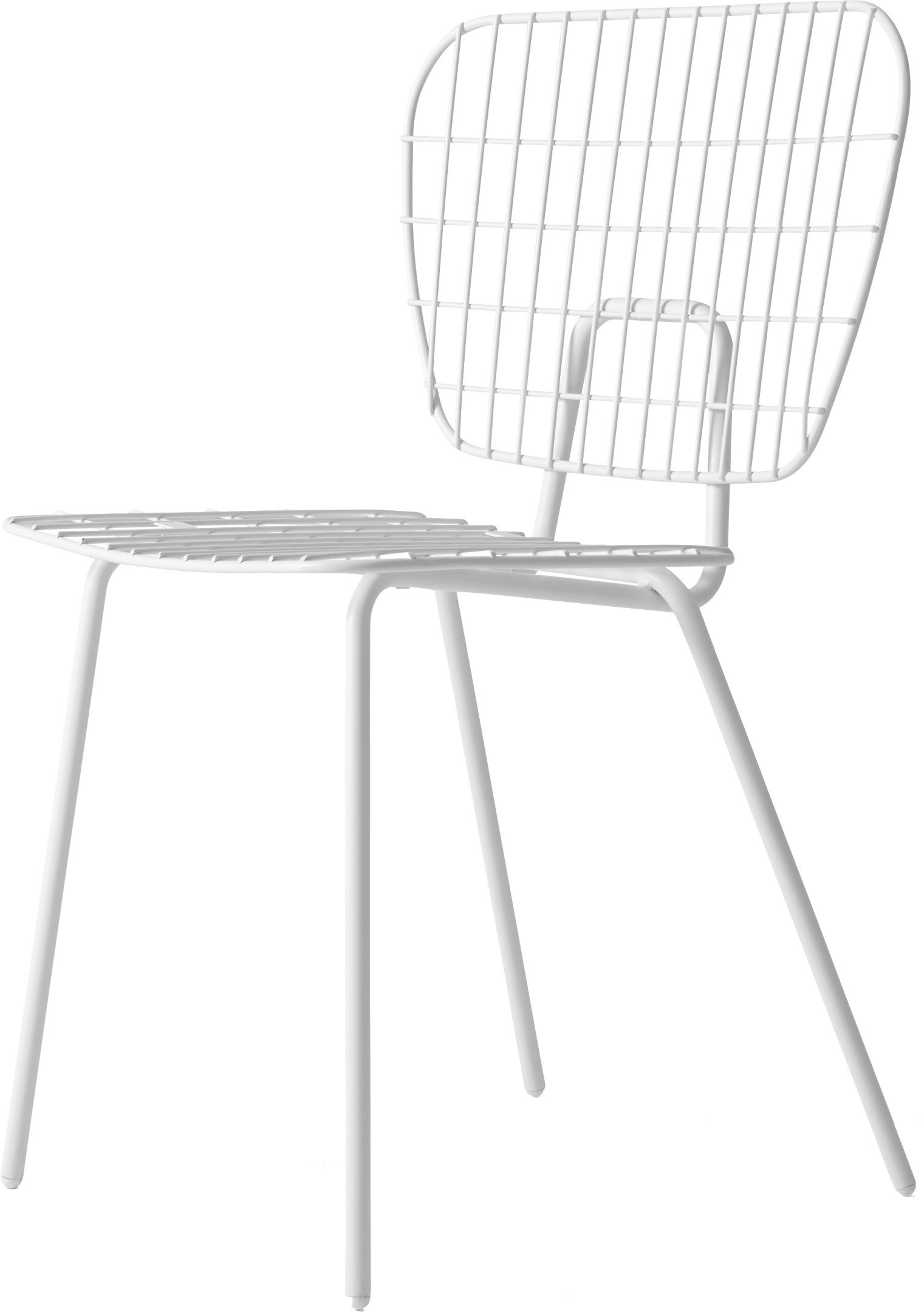 WM String Chair White by Studio WM for Menu