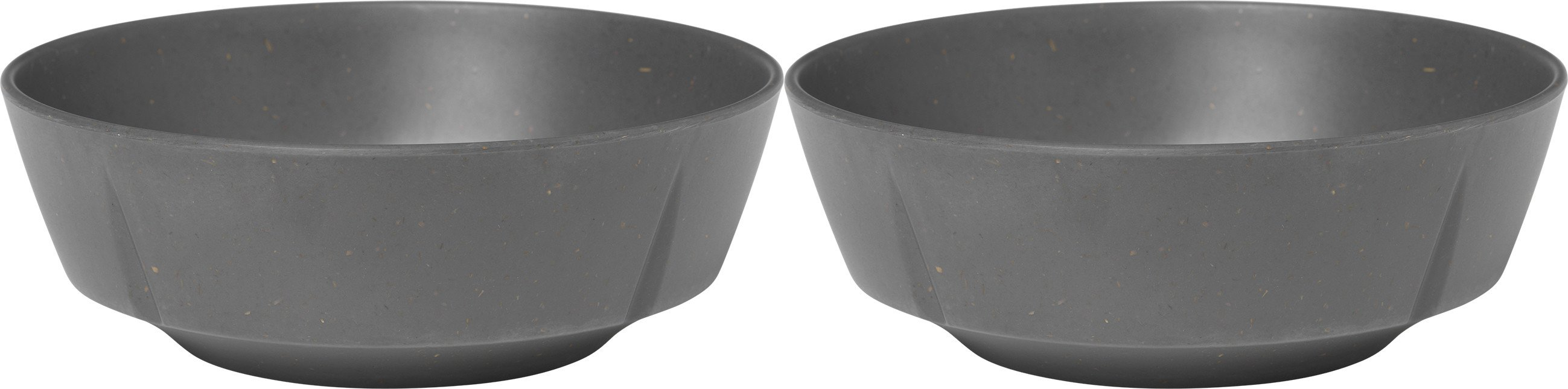 Grand Cru Take Bowl 2 pcs. Dark Grey, Rosendahl