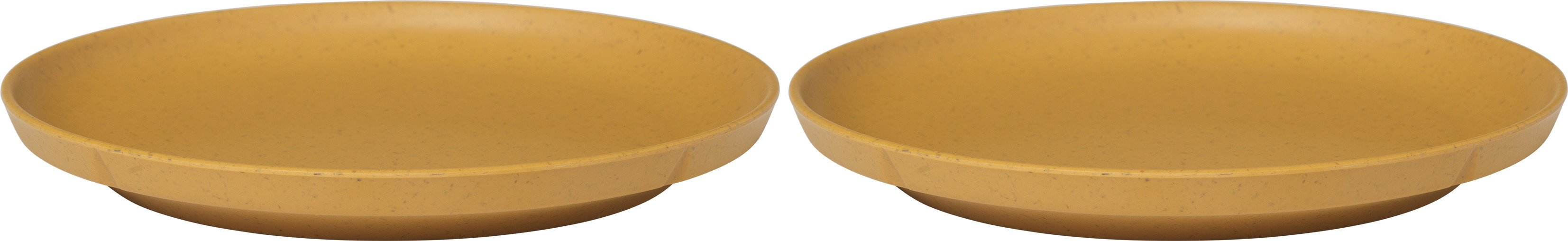 Grand Cru Take Plate 2 pcs. Ø19.5 cm Ochre, Rosendahl