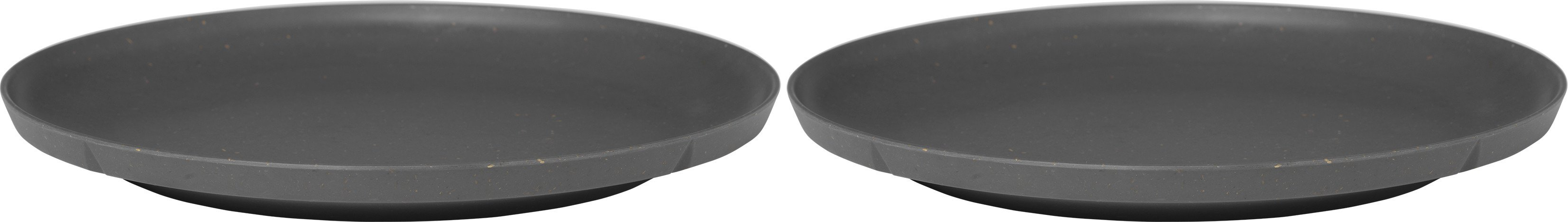 Grand Cru Take Plate 2 pcs. Ø26 cm Dark Grey, Rosendahl