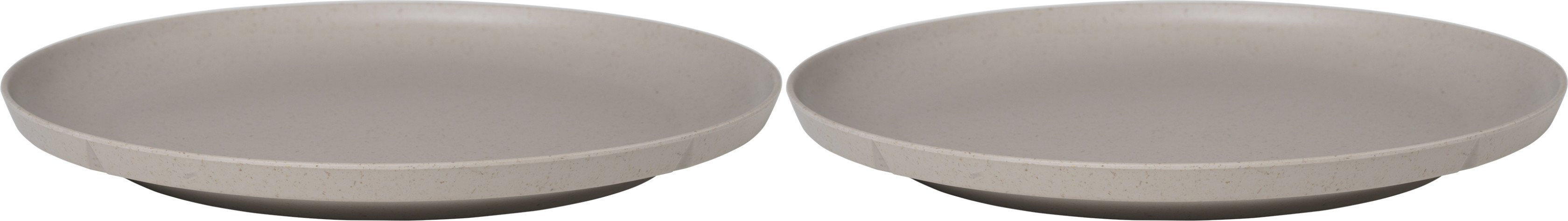 Grand Cru Take Plate 2 pcs. Ø26 cm Sand, Rosendahl