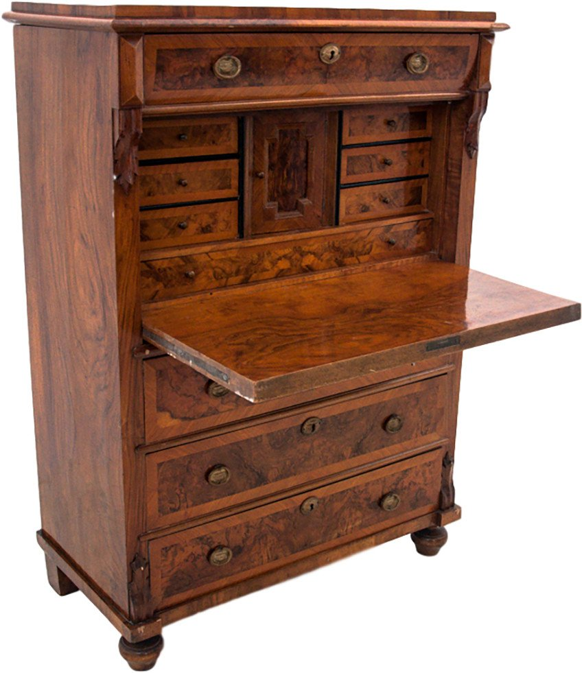 Secretary Desk, Northern Europe, circa 1860.