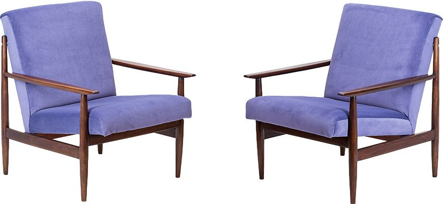 Pair of Armchairs, Thonet, Czechoslovakia, 1960s