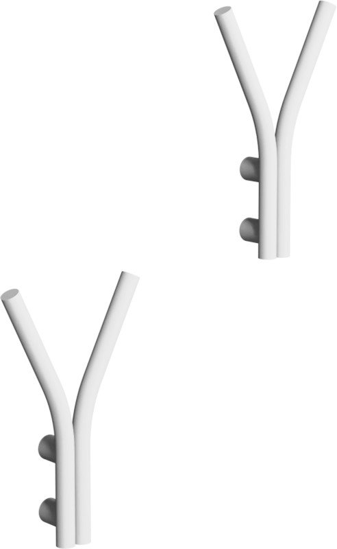 Pair of Single Shift Coat Racks White by A. Nowak, LOFT Decora - 489638 - photo