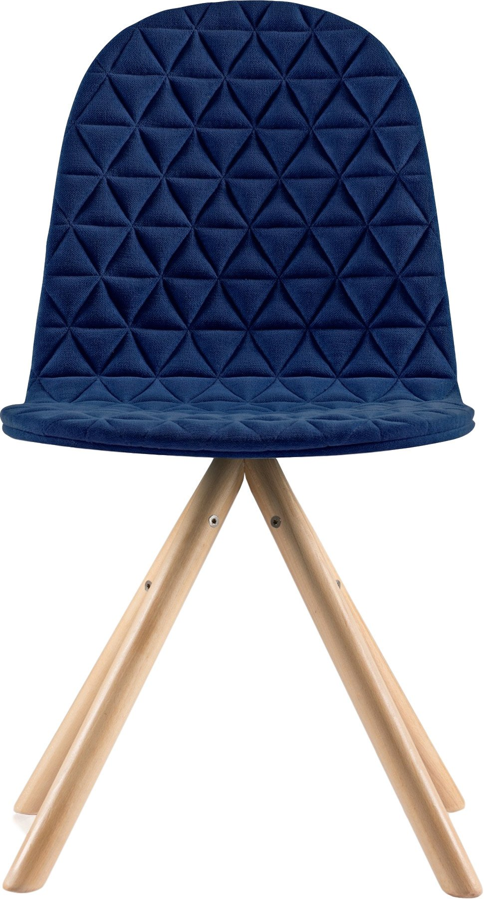 Mannequin 01 Chair Natural / Navy Blue, Iker