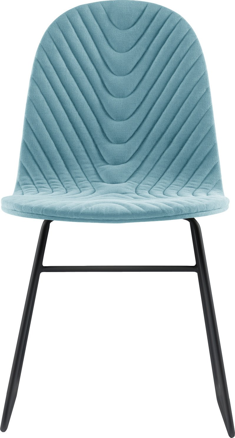 Mannequin 02 Chair Black / Light Blue, Iker