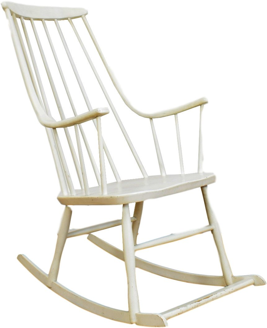 Rocking Chair by L. Larsson, Sweden, 1960s