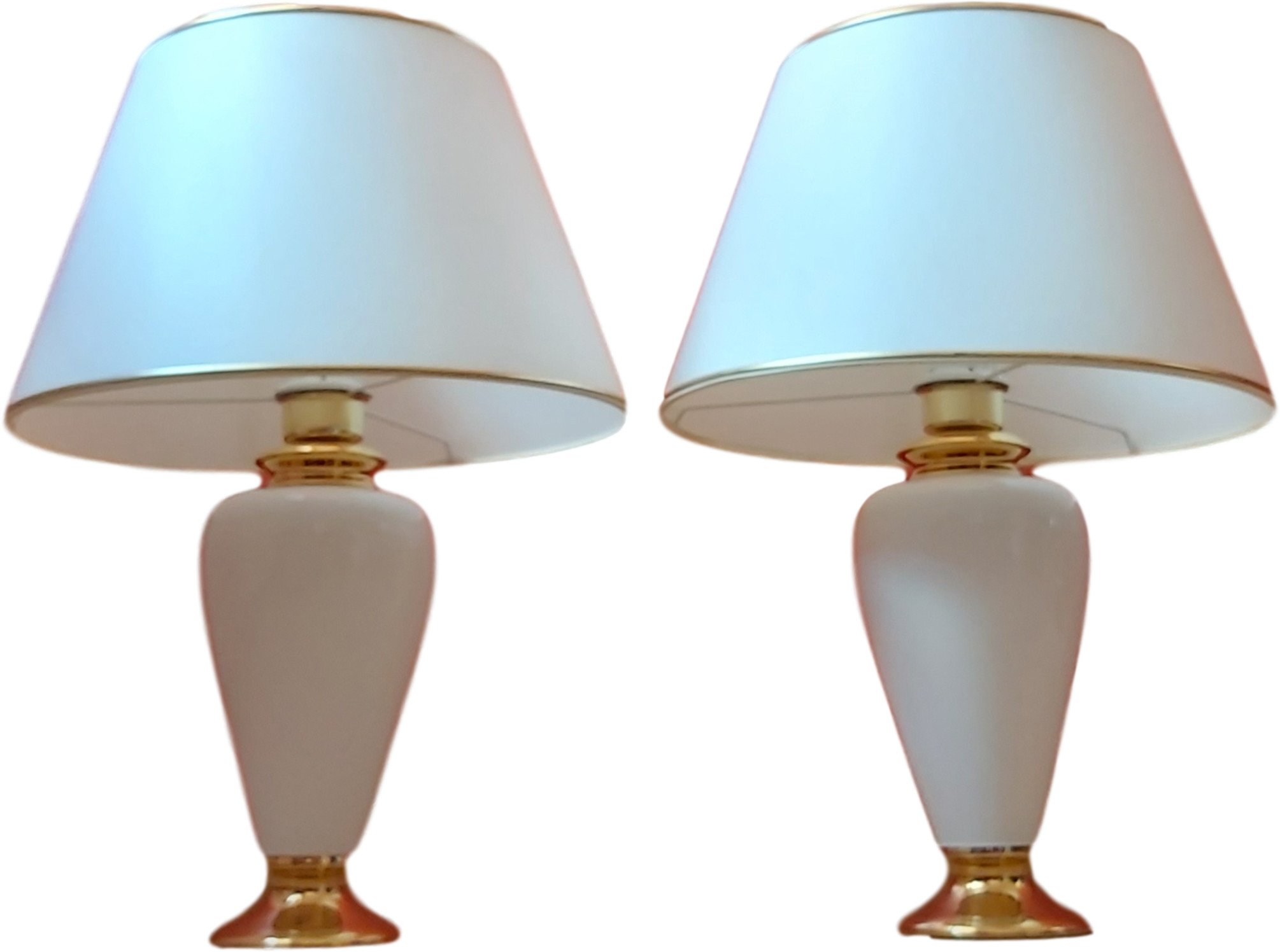 Pair of Table Lamps, Germany, 1980s
